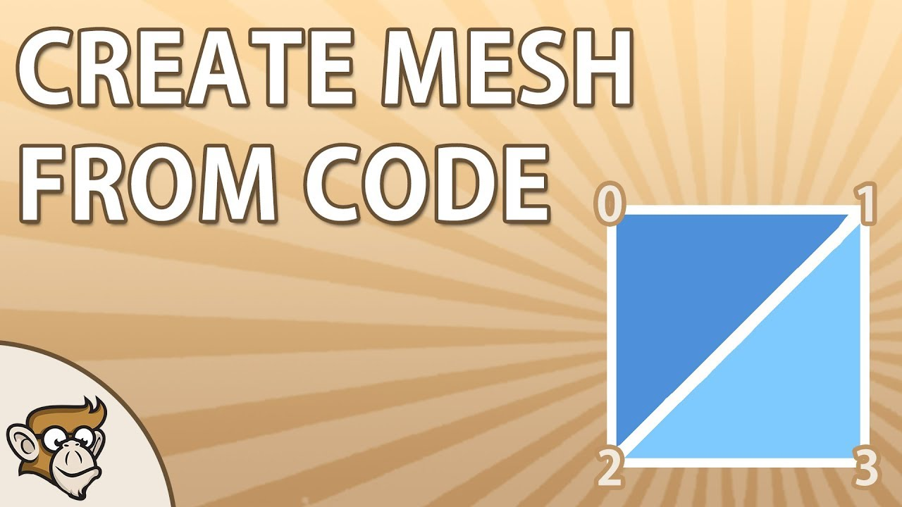 How to create a Mesh from code | Unity Tutorial