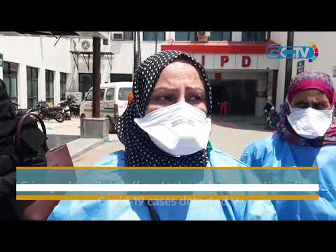 Srinagar hospital staff protest, ask for quarantine after Covid-19 cases detected