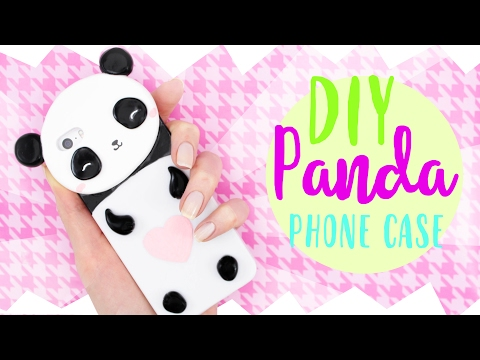 ☆ DIY PANDA PHONE CASE! - Cute & Easy! ☆
