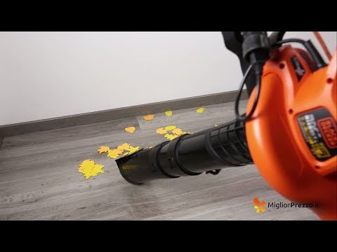 Soffiatore aspiratore e trituratore Black & Decker GW3030-QS Video Recensione