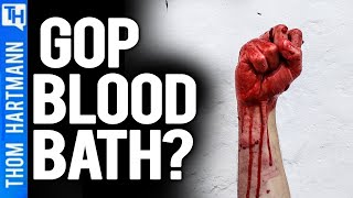 GOP Stands On Ocean of Blood