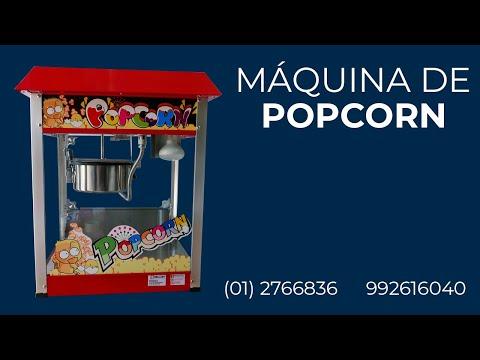Vídeo explicativo máquina de popcorn Grondoy