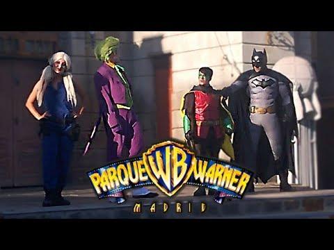 Batman Gotham City Streetmosphere Show - Parque Warner Madrid