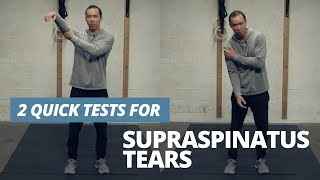 Test Yourself for Supraspinatus Tear