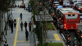 Trotoar Ramah Disabilitas di Jakarta Barat Capai 21 Kilometer