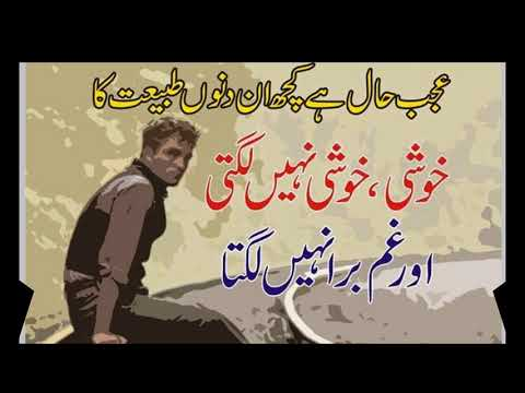 best urdu poetry Khushi Quotes in Urdu - смотреть онлайн на Hah Life