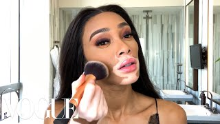 Winnie Harlow's Afterparty Beauty Look — Just in Time for Fashion Week | Beauty Secrets | Vogue