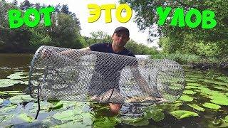 Ловля рыбы с помощью вершей