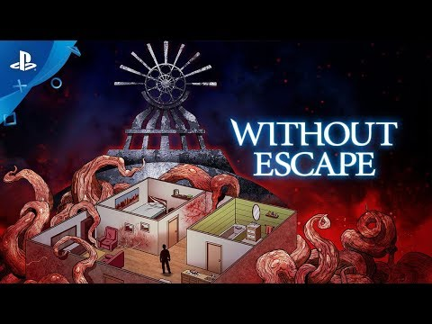 Without Escape – Launch Trailer | PS4, PS Vita
