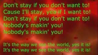 Afrojack,Dimitri Vegas,Like Mike,NERVO - The Way We See The World Lyrics
