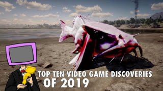 Top 10 Video Game Discoveries & Mysteries 2019