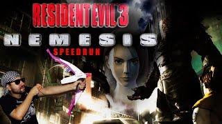 Resident Evil: 3 Nemesis Speedrun Any % y Magnum% Y Dino Crisis 1 - Gameplay Español