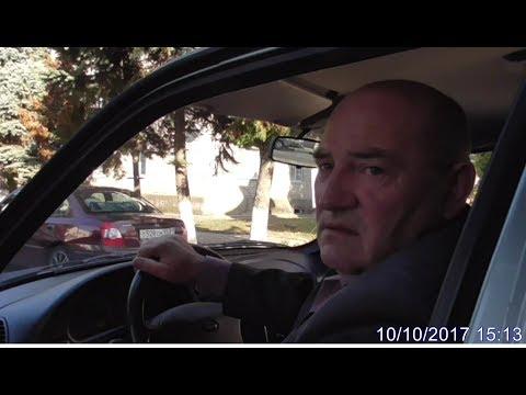 Глава сельского поселения Сидак Н.И. снова нарушил ПДД ст.Ленинградская