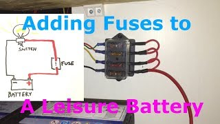 Fuses for a leisure battery | Kholo.pk