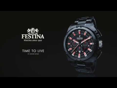 Time to Live by Gerard Butler FESTINA
