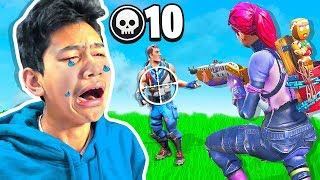 CRYING after every kill I get in Fortnite: Battle Royale