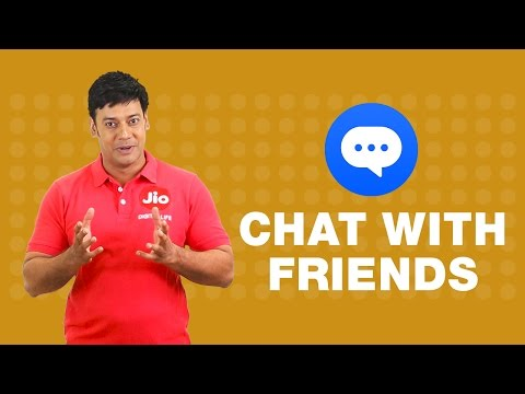 How to connect with your friends on JioChat?