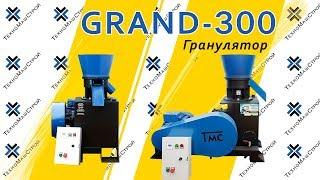 Гранулятор GRAND-300 (800 кг/час) (рабочая часть) от компании ТехноМашСтрой - видео