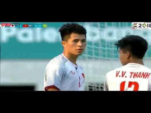 Highlight U23 Việt Nam vs U23 Nhật Bản 1 0 full 2 hiệp   Asiad 2018
