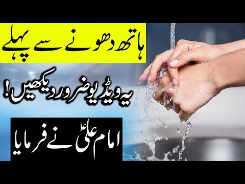 Pani Ko Zaya Karne Wale Ye Video Zarur Dekhin | Hazrat Imam Ali as | Mehrban Ali | Water