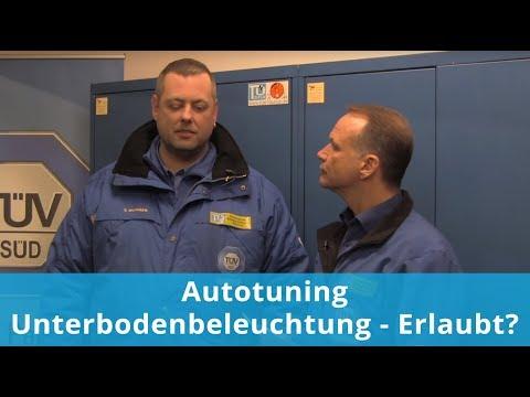 Autotuning - Unterbodenbeleuchtung - Erlaubt? Unser ExpertenTeam antwortet