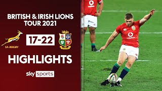 Lions come back to beat Boks & go 1-0 up in series! | South Africa 17-22 Lions | Highlights