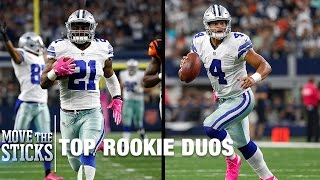 Ezekiel Elliott & Dak Prescott Ranking Among Rookie Duos of Past Decade? | Move the Sticks | NFL
