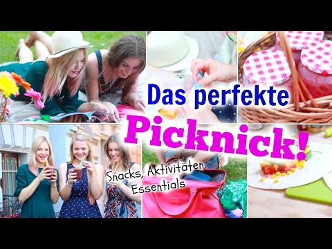 DAS PERFEKTE PICKNICK! Snacks, Beauty Essentials + Aktivitäten im Sommer ♡ BarbieLovesLipsticks