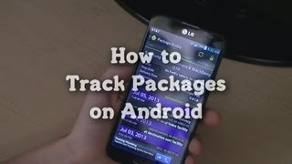 How to: Track Packages on Android