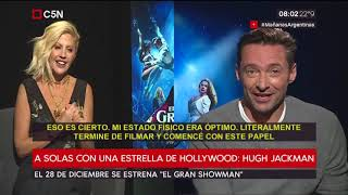 Barbie Simons - Entrevista a Hugh Jackman, protagonista de El Gran Showman (C5N) | Kholo.pk