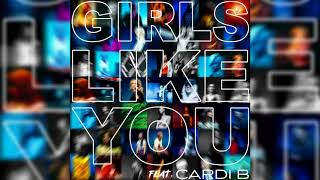 Maroon 5, Cardi B   Girls Like You (Official Instrumental)
