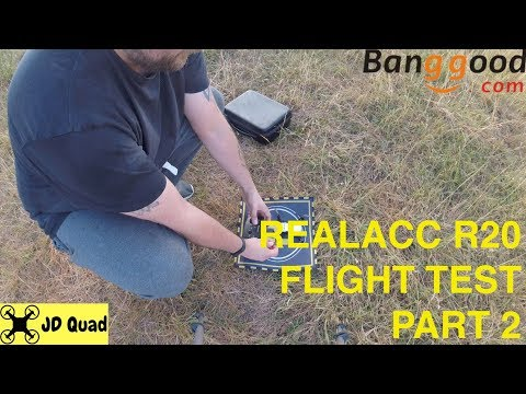 Realacc R20 Flight Test Video Part 2 - Courtesy of Banggood