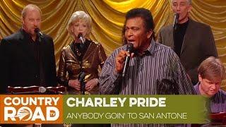 "Charley Pride sings ""Is Anybody Goin' to San Antone"""