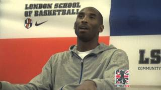 Kobe Bryant says he'd beat Lebron James in a 1 on 1-