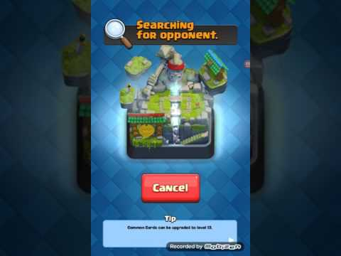 First video for clash royal. .(testing a new vidio recorder)