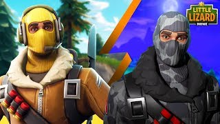 RAPTOR MEETS HIS EVIL TWIN BROTHER! Fortnite Short