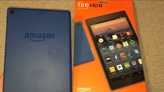 Amazon Fire 8 HD Unboxing & First Look