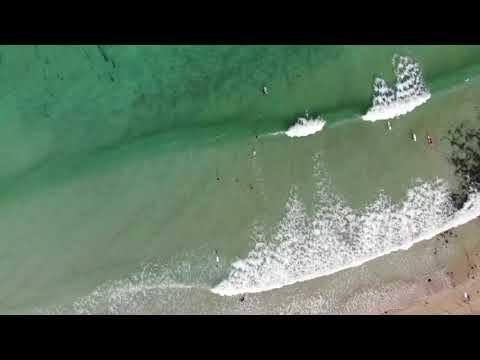 Surfers having tons of fun at Apollo Bay