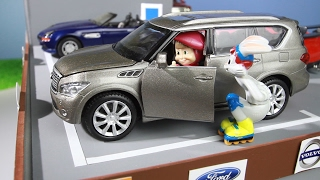 Мультик про машинки. Маша и Медведь покупают новую машину. МанкиМульт