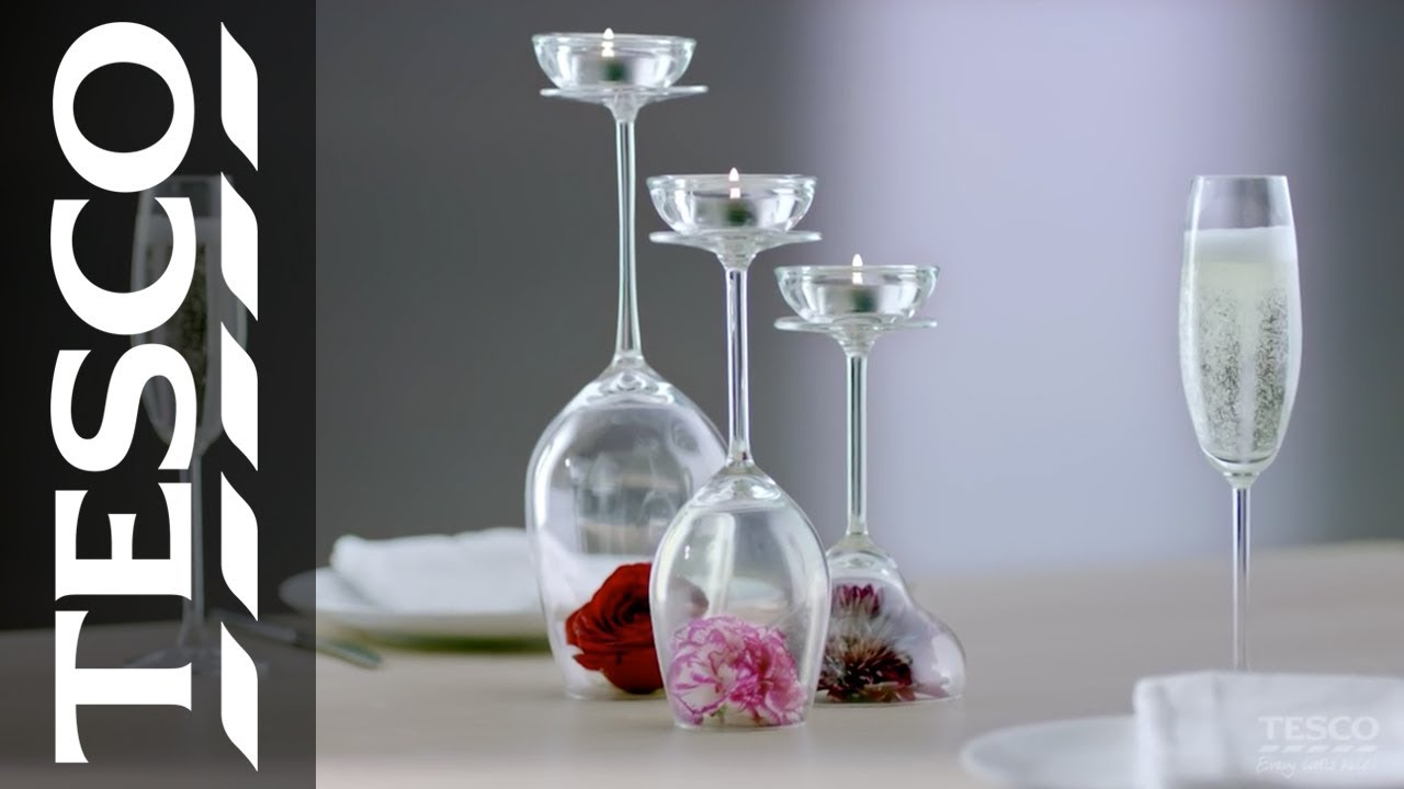 Romantic table decorations