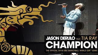 Jason Derulo   Champion (ft. Tia Ray) | Official 2019 FIBA Basketball World Cup Song