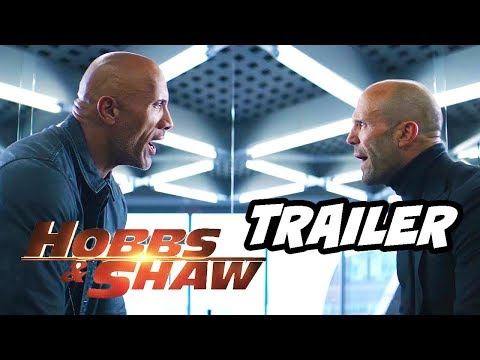 Fast and furious hobbs and shaw trailer   super bowl 2019 breakdown