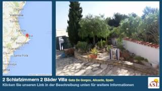 preview picture of video '2 Schlafzimmern 2 Bäder Villa zu verkaufen in Gata De Gorgos, Alicante, Spain'