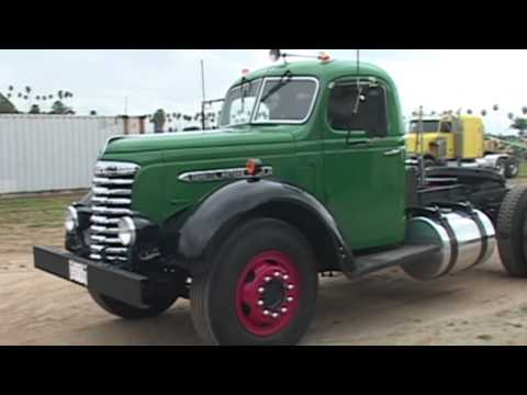 1948 GMC Semi Truck Video