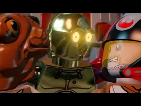 Vídeo do LEGO® Star Wars™: TFA