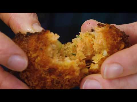 Salmon Croquettes, a kid-friendly fresh Salmon recipe