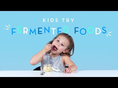 Kids Try Fermented Foods