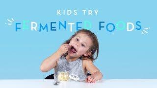Kids Try Fermented Foods | Kids Try | Cut