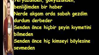 Mustafa Ceceli - Söyle Canım Sözleri (Lyrics)