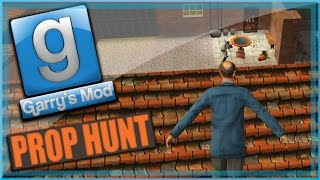 Garry's Mod Prop Hunt Funny Moments - Old Men on the Roof, Toilet Paper, and Delirious Triple!